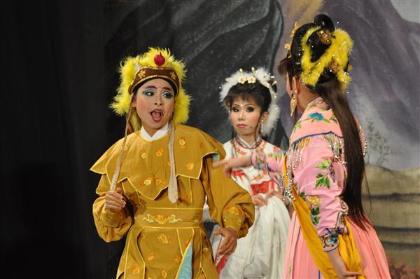社教館附設青年劇團《大鵬鬧宮》